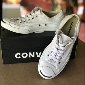 Adult Converse Jack Purcell Ox Women's 7.5 White